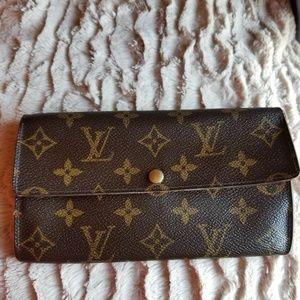 📿Classic  Louis Vuitton Long Bifold  Wallet👠